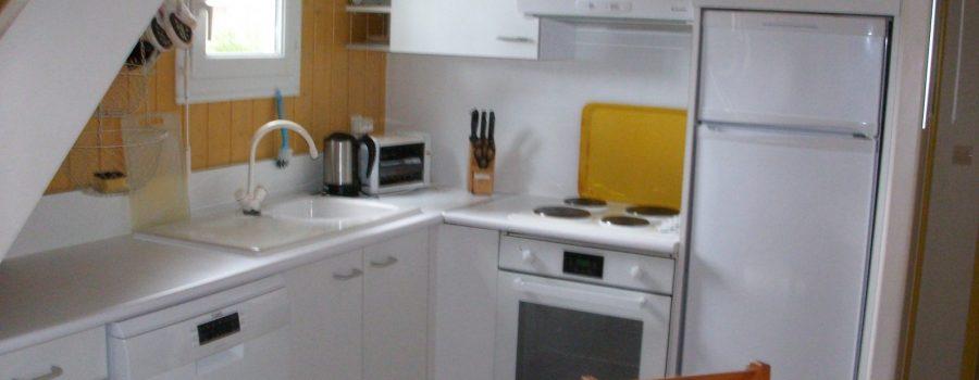 chalet 4-6 p colibri 6502 cuisine