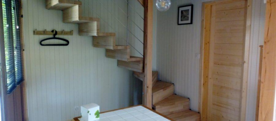 chalet 2-3 p Mesange 26B escalier(1) (1)