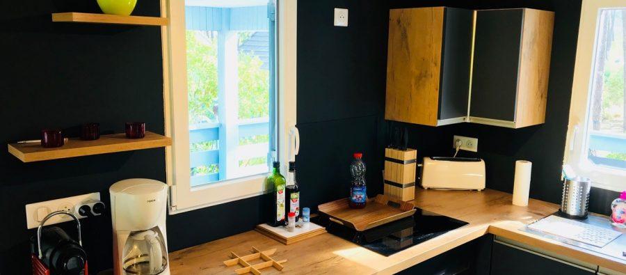 chalet 2/3 p. Mésange 27C cuisine 2018